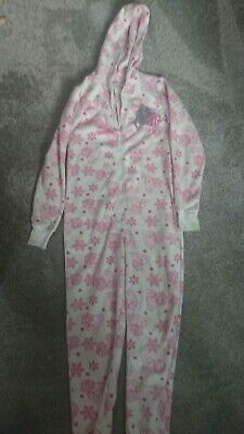 Girls All In One Pjs Age 10-11 Years From Newlook
