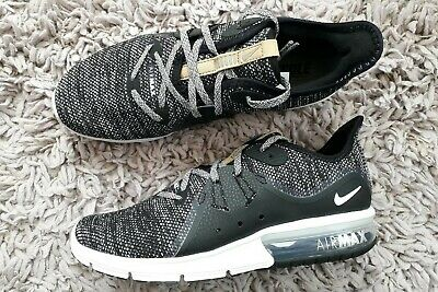 Nike Air Max Sequent 3 Womens Girls Trainers Running Shoes Size Uk 5.5 Sports