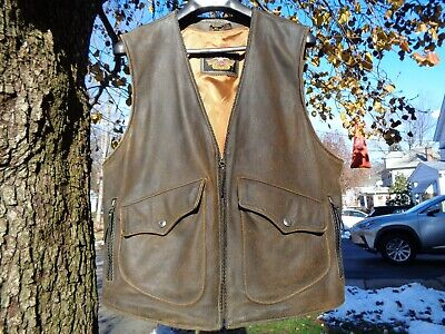 Harley Davidson Billings Leather Vest X-Large