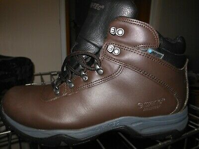 mens hi tec  eurotrek 111 leather  hiking boots size 7 boxed