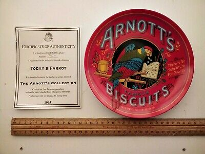 ARNOTT'S Today's Parrot Collectors Plate -1995