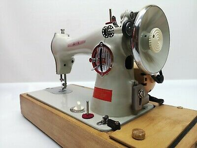 Jones Model D68 Solid Metal Electric Sewing Machine Fabulous Condition Serviced