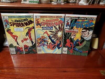 Amazing Spider-man #233 239 & 240 2nd Hobgoblin Key Newsstand Variant VF Beauty