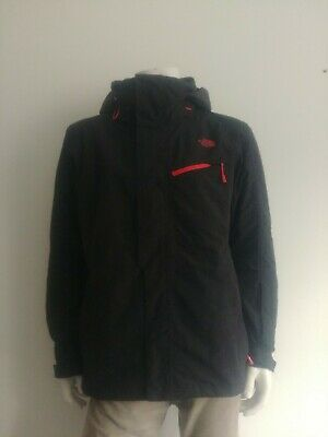 THE NORTH FACE Black Hy-vent Waterproof lightly padded Jacket Large Men's