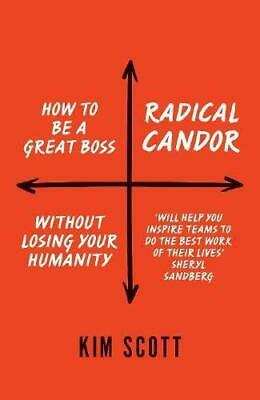 Radical Candor: How to Get What You Want by Saying What You Mean, Kim Scott, Goo