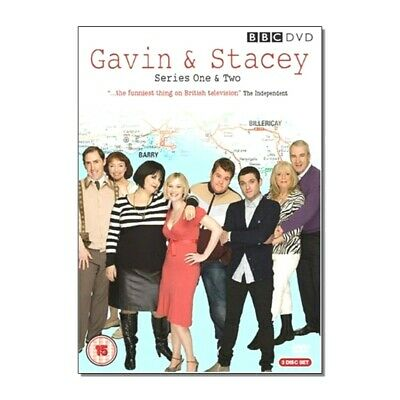 Gavin & Stacey Dvd - Series One & Two - 3 Disc Box Set - Like New Condition