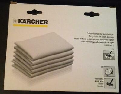 Kärcher 6.369-481.0 - Chiffons pour nettoyeur vapeur / Cloths for steam cleaner