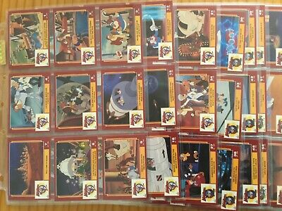 DISNEY ADVENTURES COMPLETE SET OF TRADING CARDS By DYNAMIC MARKETING YEAR 1993