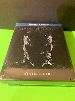 Game of Thrones The Complete 7 Season Blu Ray+Digital Brand New Sealed