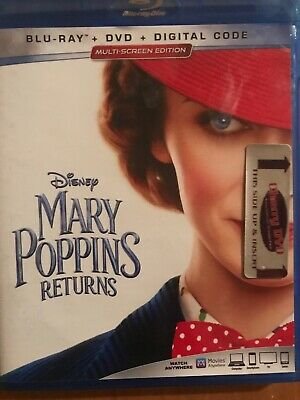 Mary Poppins Returns Bluray Only