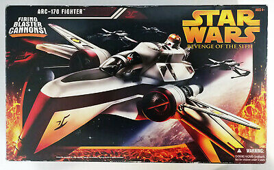 2005 Star Wars Revenge of the Sith ARC-170 FIGHTER Vehicle