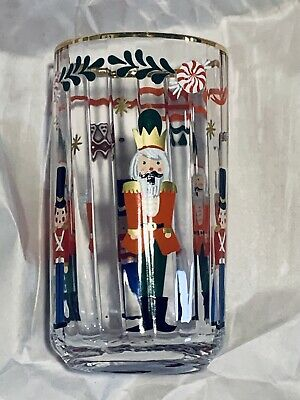 SOLD OUT - Rifle Paper Co for Anthropologie - Nutcracker Juice Glass  NWT
