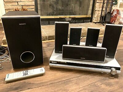 SONY HDMI Home Theater System HDC-HDZ235 Speakers, Remote, wire ~ Tested
