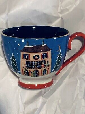 SOLD OUT - Rifle Paper Co for Anthropologie Nutcracker House Mug NWT