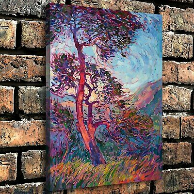 "12""x16""Abstract Wild Woods Poster HD Canvas print Home Decor room Wall art Photo"
