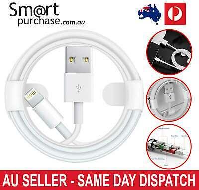 USB Lightning Charging Cable Data for Genuine Apple Charger iPhone iPad 6 8 7 v