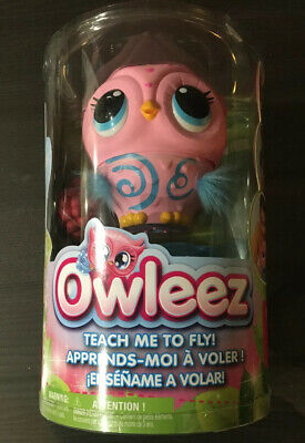 Owleez Interactive Pink Baby Owl Lights Sounds Learn To Fly Christmas Gift Child