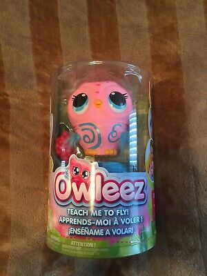 Pink Owleez Baby Owl Flying Interactive Toy. BNIB