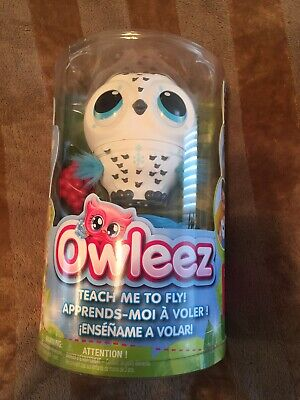 White Owleez Baby Owl Flying Interactive Toy. BNIB