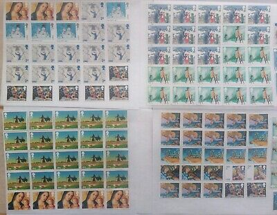 100 2nd class Royal mail large letter stamps second class off paper unfranked