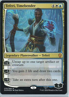 Magic The Gathering Dominaria Mythic Foil Card #270 Teferi Timebender
