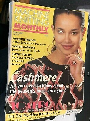 Machine Knitting Monthly - 2000 Complete Year 12 Monthly Magazines bundle