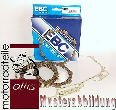 EBC clutch friction plate set + clutch cover gasket - Hyosung GF 125 Speed