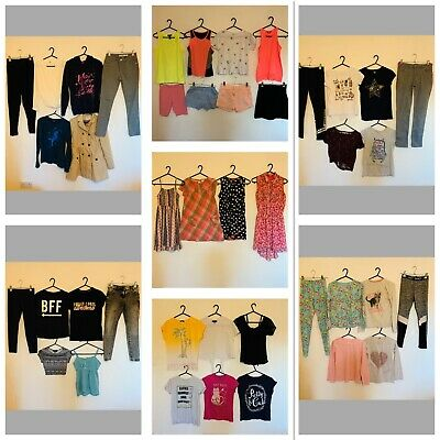 Huge Girls Age 10/11 Clothes Bundle (3) Next New Look River Island Gap H&M