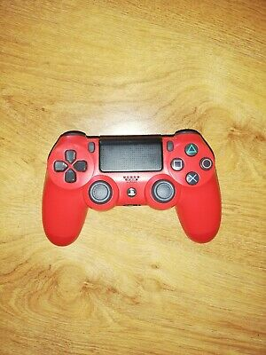 PlayStation 4 DualShock 4 V2 Wireless Controller - Magma Red (Spares/Repairs)