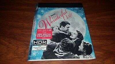 It's a Wonderful Life 4K Bluray Slipcover Only slipcase