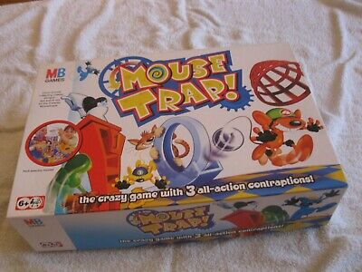 Hasbro Mouse Trap Board Game - Boxed & Complete - In Good Condition 030648221102