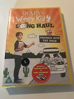 Diary of a Wimpy Kid 4 - The Long Haul DVD