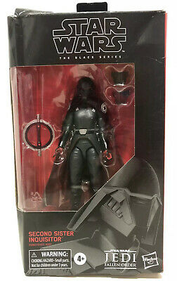 """Star Wars The Black Series # 95 Second Sister Inquisitor Fallen Order 6""""Figure"""