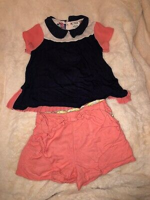 mamas and papas Girls Outfit Age 3-4 Years