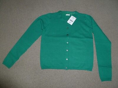 Brand New With Tags Girls NextGreen Cardigan - Age 11 Years