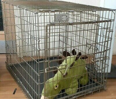 suresafe Crate. Large Heavy Duty Pet Dog Puppy Training Cage  Enclosure Metal