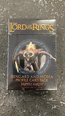 Isengard Moria Elves Dwarves Free People Magical Power Profile Card SBG LOTR