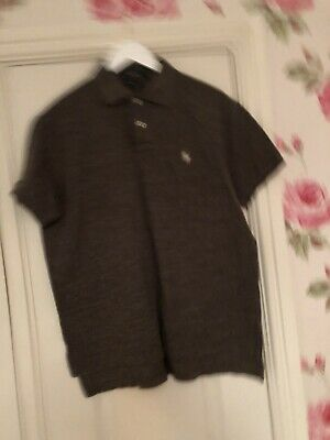 Mens Ralph Lauren Custom Fit Brown Polo Size Large