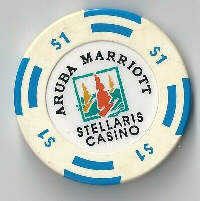 $1 Aruba Stellaris Marriott Casino Chip Poker Craps Island