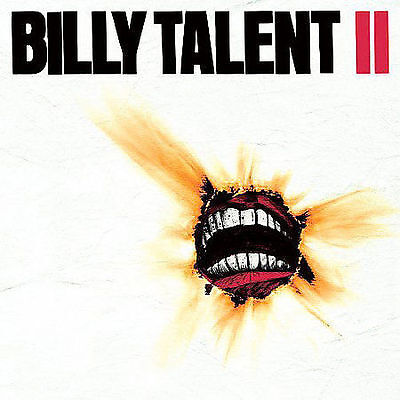 "Billy Talent :II , Digipak CD, 2006, Atlantic ""Red Flag"""