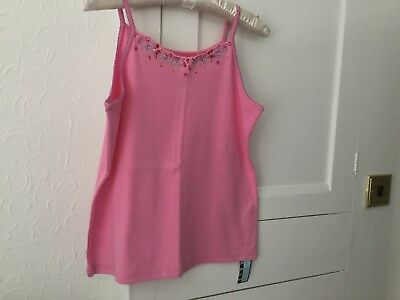 M&S Girls Vintage T Shirt Suit Young Teenager Chest 37 BNWT 100% Cotton