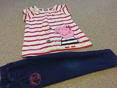 Marks & Spencer PEPPA PIG set 2-3 years