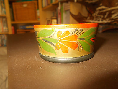Lovely Russian USSR Vintage Cup Wooden Pot