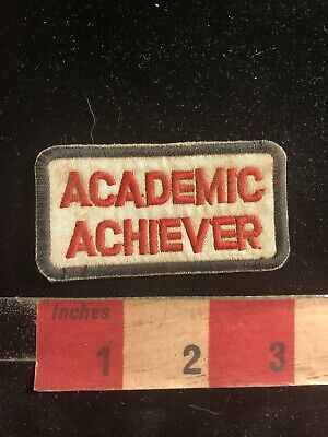 Honor Roll Student ( Book Nerd !) ACADEMIC ACHIEVER Patch 99QQ