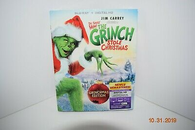 Dr. Seuss' How THE GRINCH STOLE CHRISTMAS ~ GRINCHMAS ED ~ DVD ~ Sealed ~ NEW