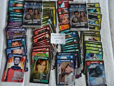 doctor who monster invasion 8th 86 CARDS all different job lot