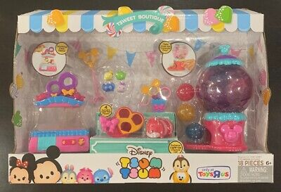 NEW Disney Tsum Tsum Tsweet Boutique Light Up Play Set Toys R Us Exclusive