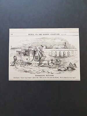 Collection Of Prints Mid to late19th Century, Punch, Satire, Humour