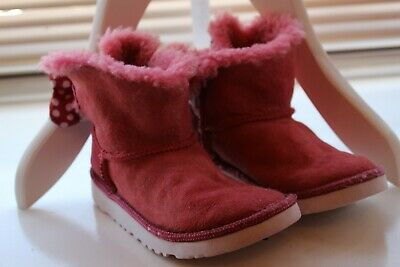 Girls red Disney UGGs - Minnie Mouse size 2