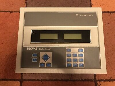 Woodward EGCP-2 Digital Control. Used But Working.   UK Seller